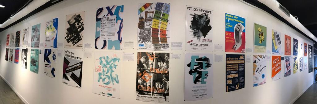 affiches corridor